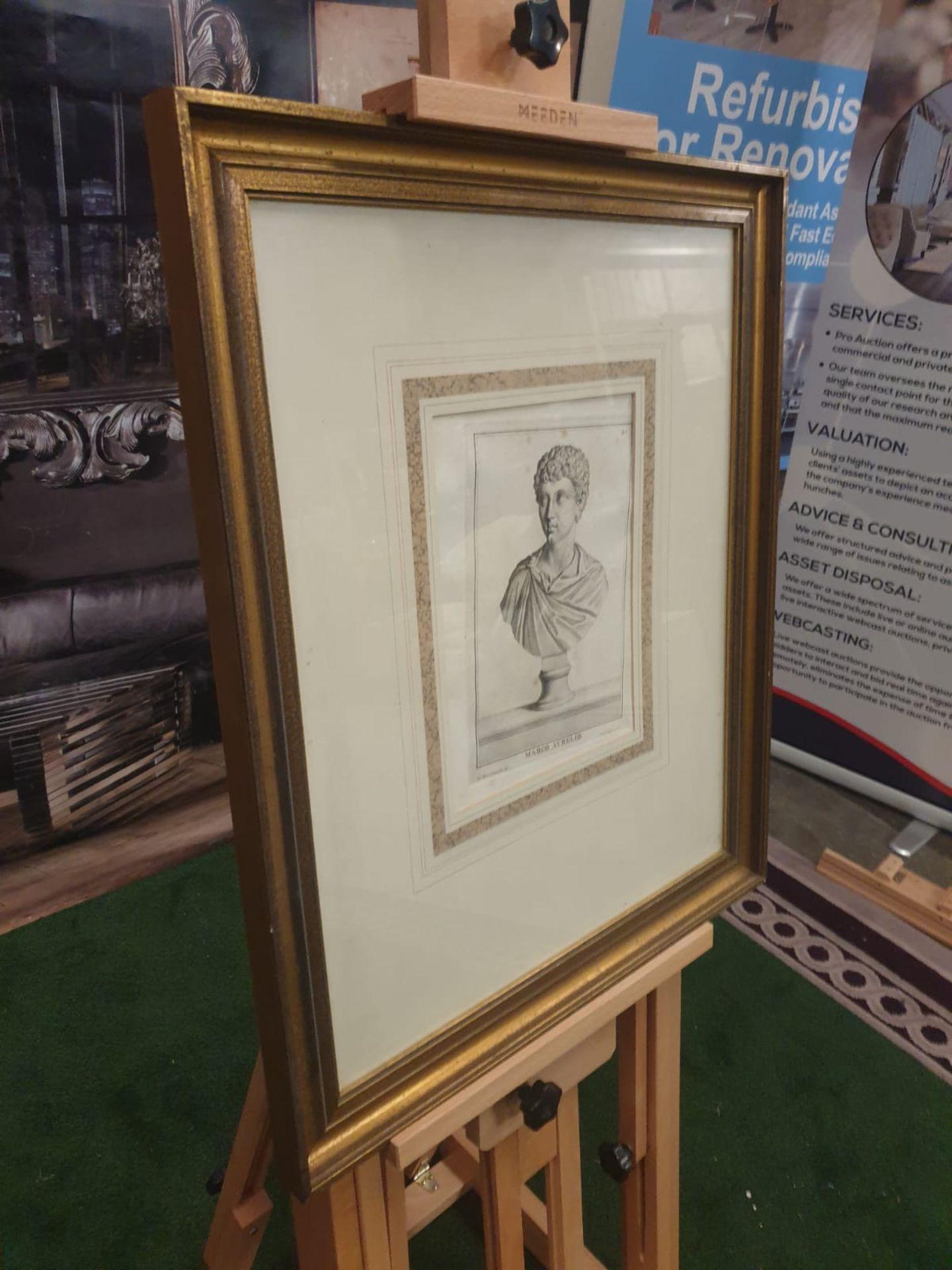 3 x framed prints comprising of Carlo Gregori after Giovanni Domenico Campiglia Galba, Roman - Image 4 of 5