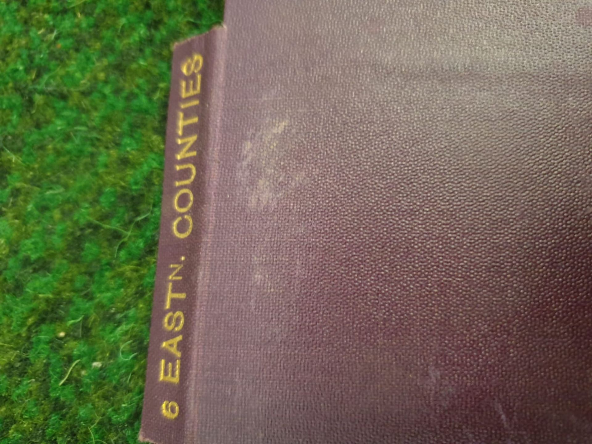 A set of 8 G.W. Bacon & Co VintageLarge Print Road maps in leather slipcase Circa. 1910 - Image 2 of 12