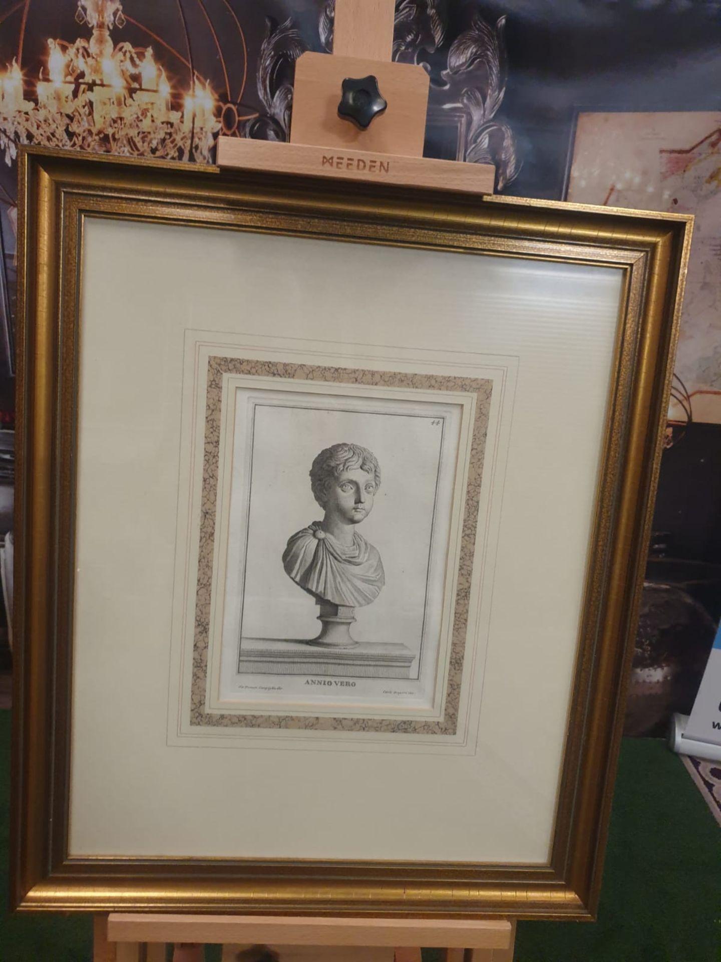 3 x framed prints comprising of Carlo Gregori after Giovanni Domenico Campiglia Galba, Roman - Image 5 of 5