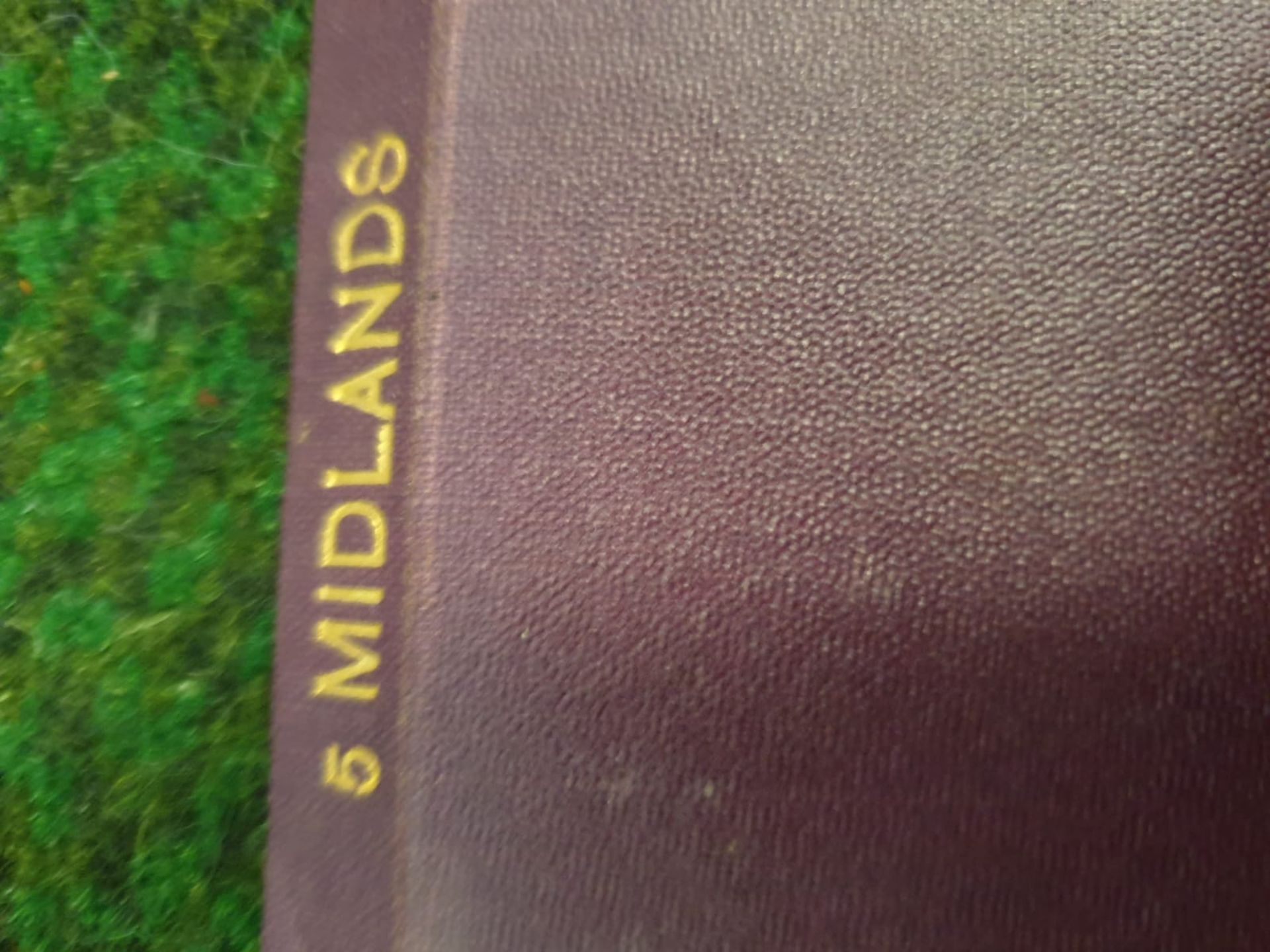 A set of 8 G.W. Bacon & Co VintageLarge Print Road maps in leather slipcase Circa. 1910 - Image 3 of 12