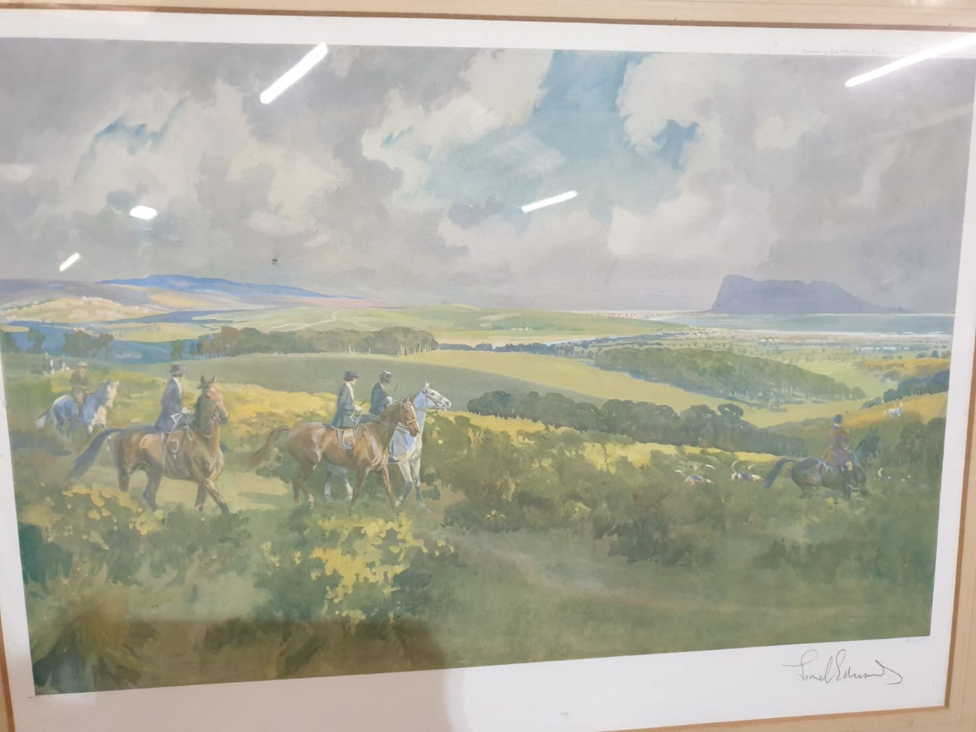 After Lionel Edwards and Eyre and Spottiswoode Publisher The Royal Calpe Hunt above Guadacorte - - Image 5 of 5