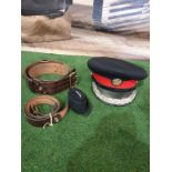 Deputy Lord Lieutenants Military Cap possibly made by Cooper Stevens Headwear complete with 2 x