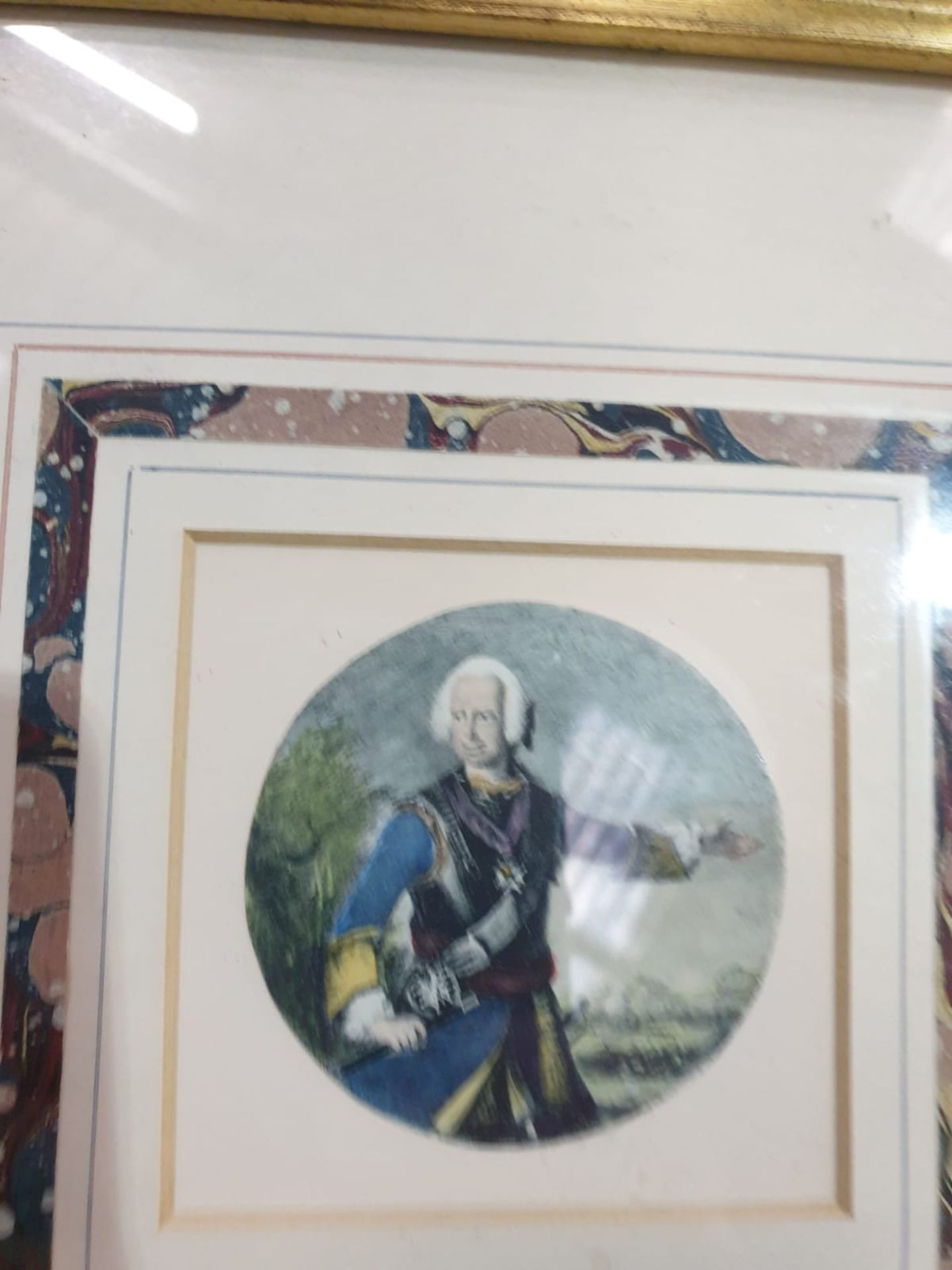 A set of 7 x framed portraits of Ladies & Gentlemen in period dress - Image 6 of 9