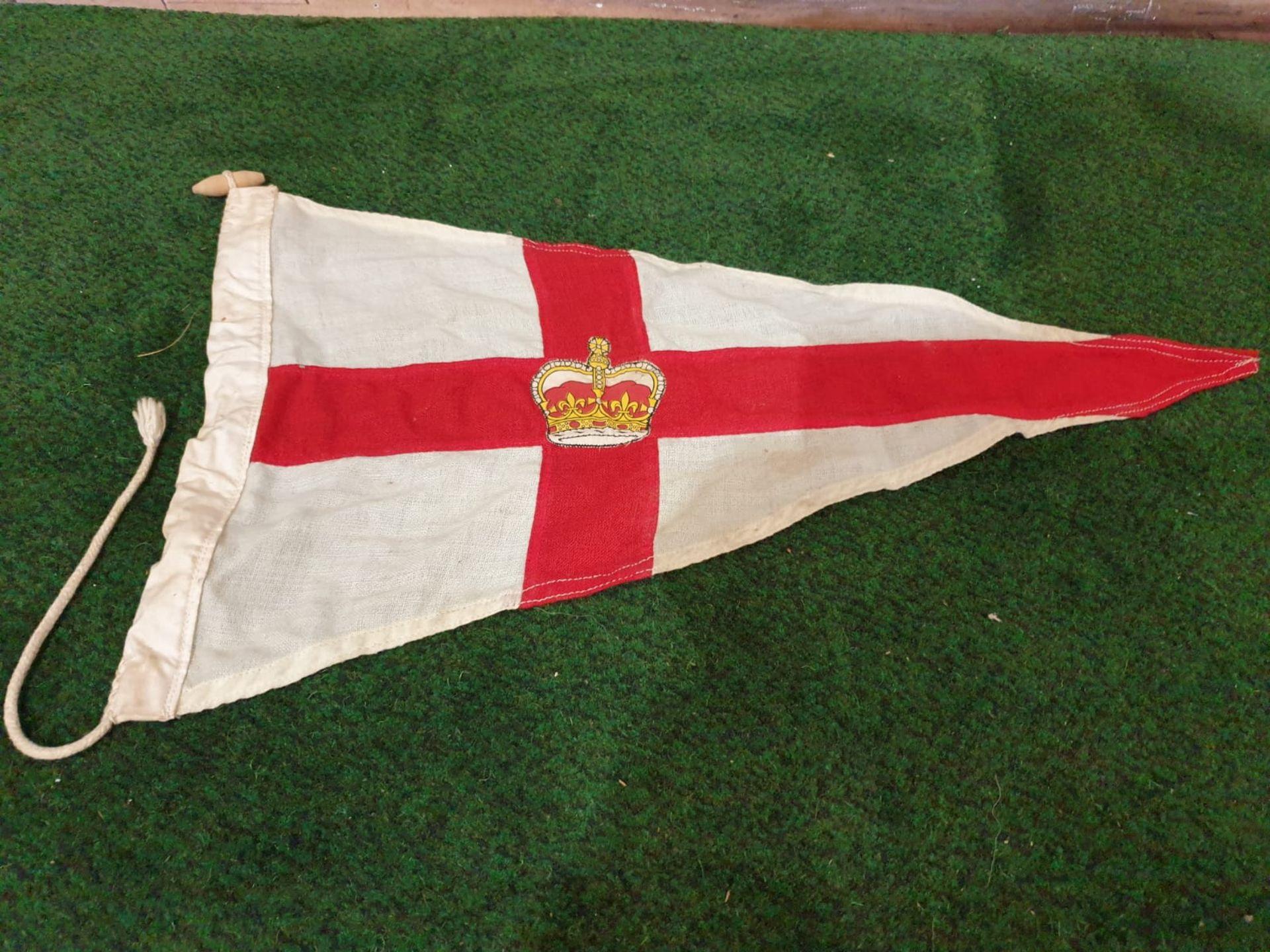 Vintage St Georges pennon flag