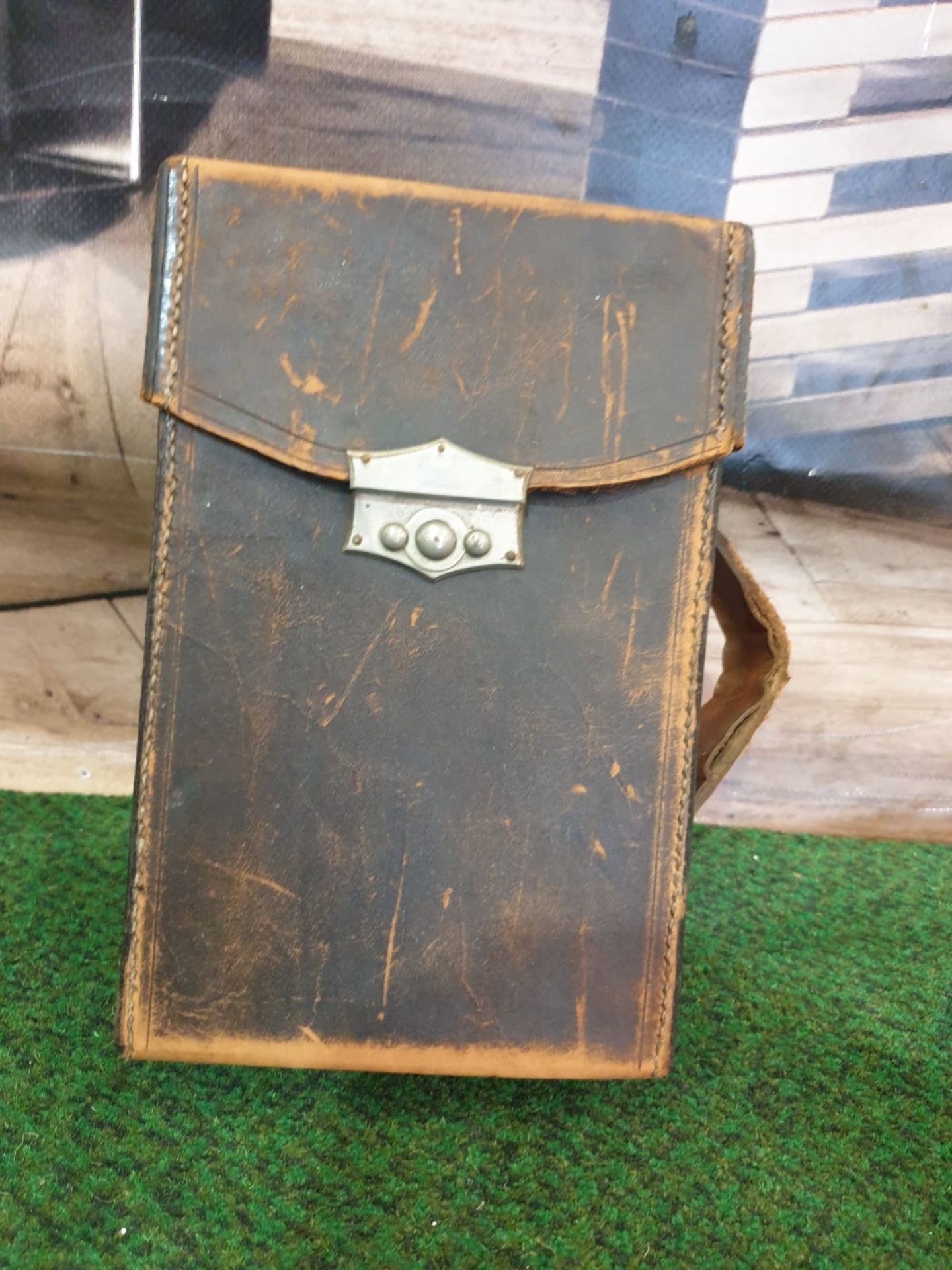 A set of 8 G.W. Bacon & Co VintageLarge Print Road maps in leather slipcase Circa. 1910 - Image 11 of 12