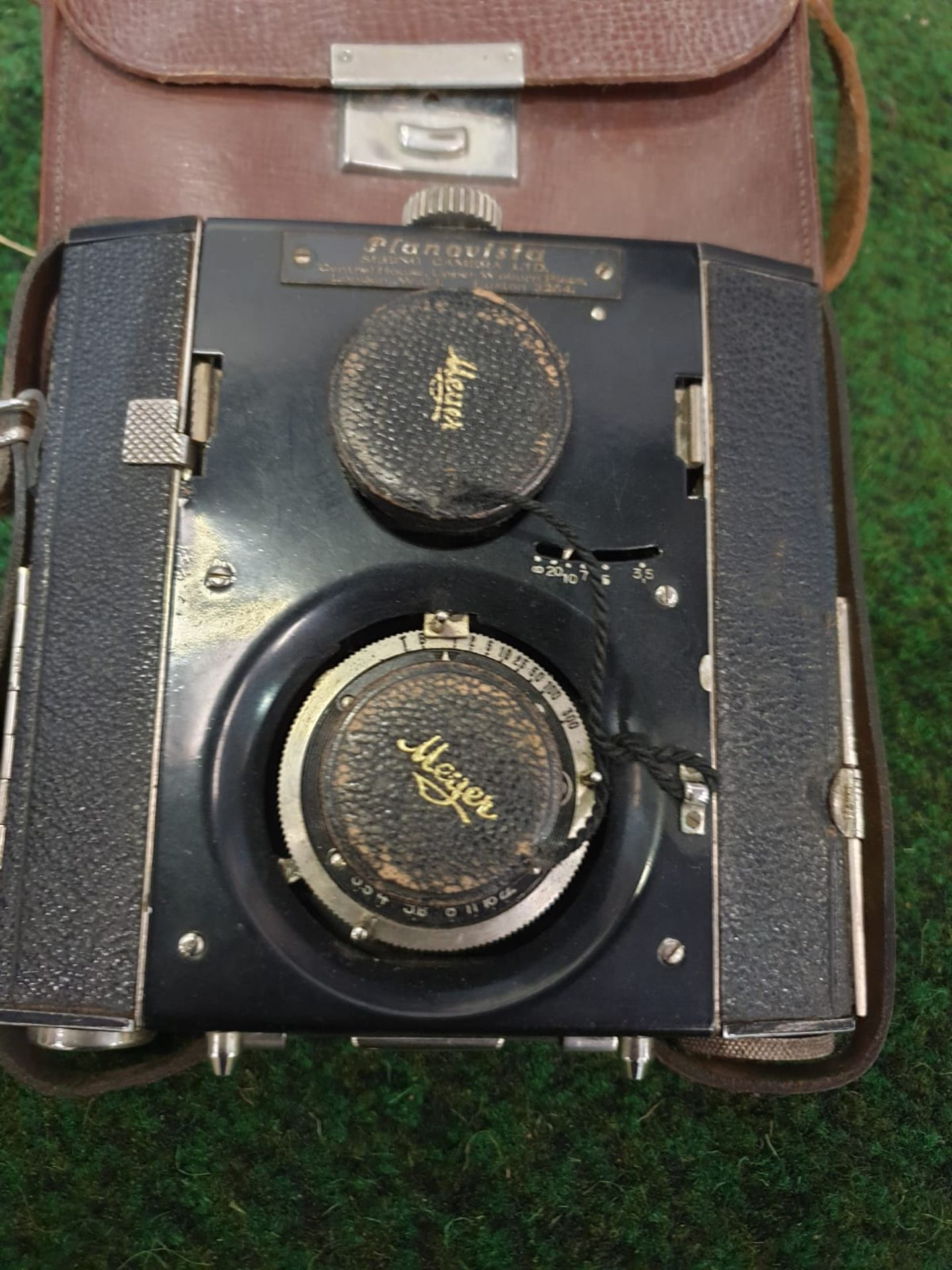 Planovista Twin Lens no. 721 Curt Bentzin, Germany; 127-rollfilm, with viewing lens and aMeyer- Image 2 of 3