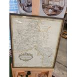 Map of Oxfordshire Rob Marden 38 x 46