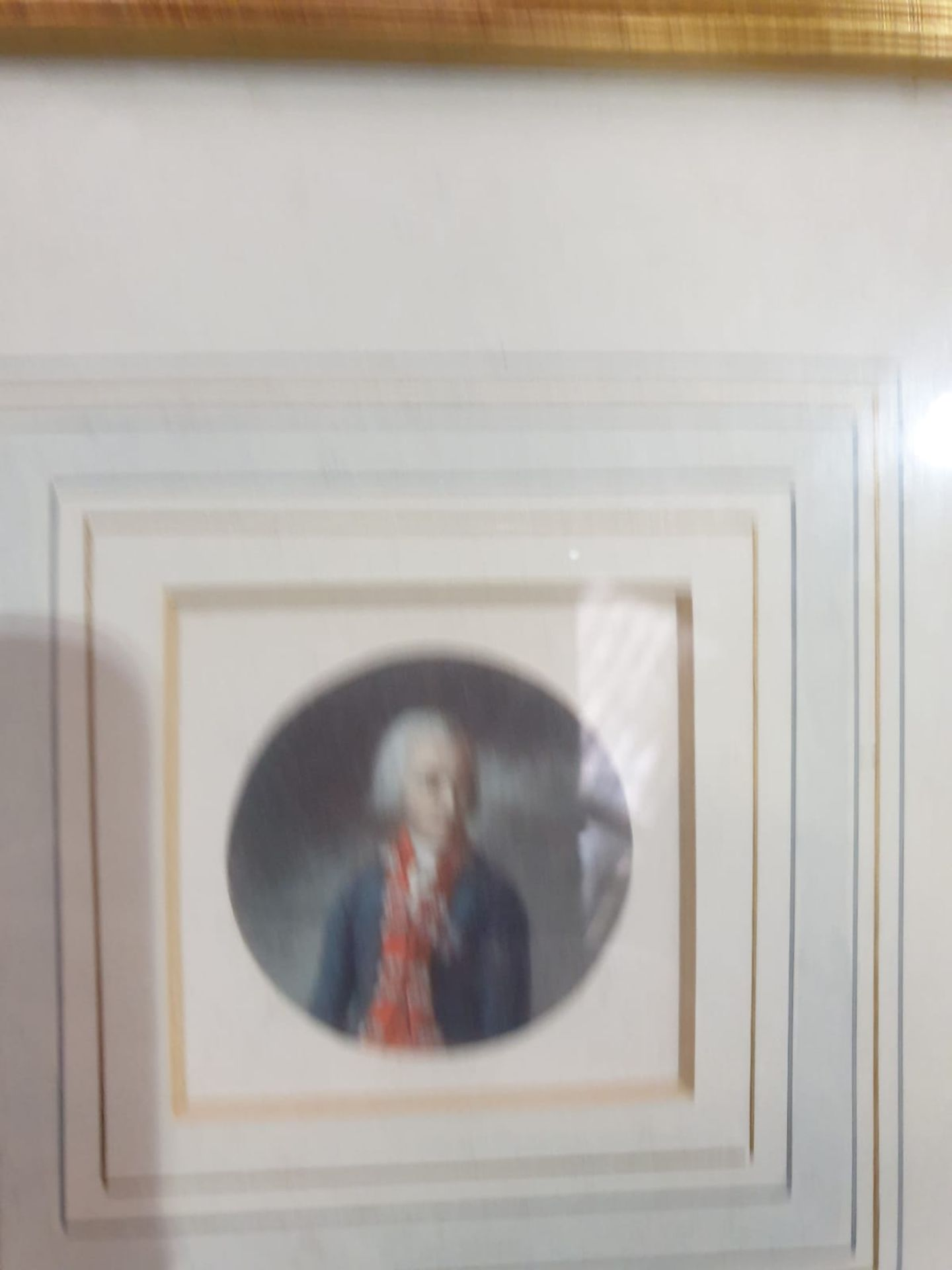 A set of 7 x framed portraits of Ladies & Gentlemen in period dress - Image 5 of 9