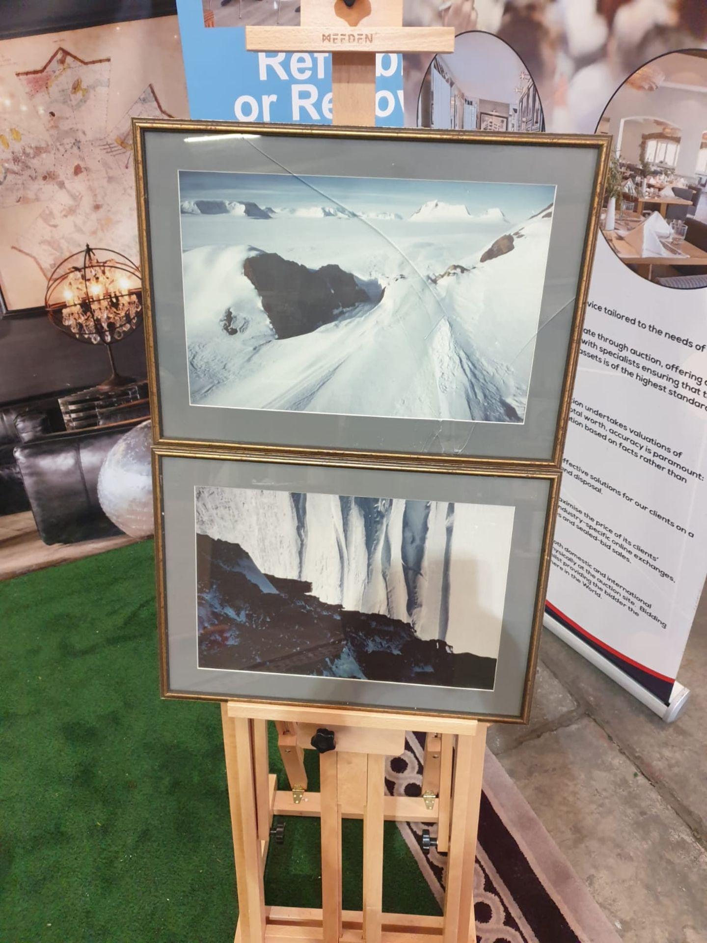 A set of 2 framed modern landscape picrures in frame 56 x 40cm - Image 3 of 5