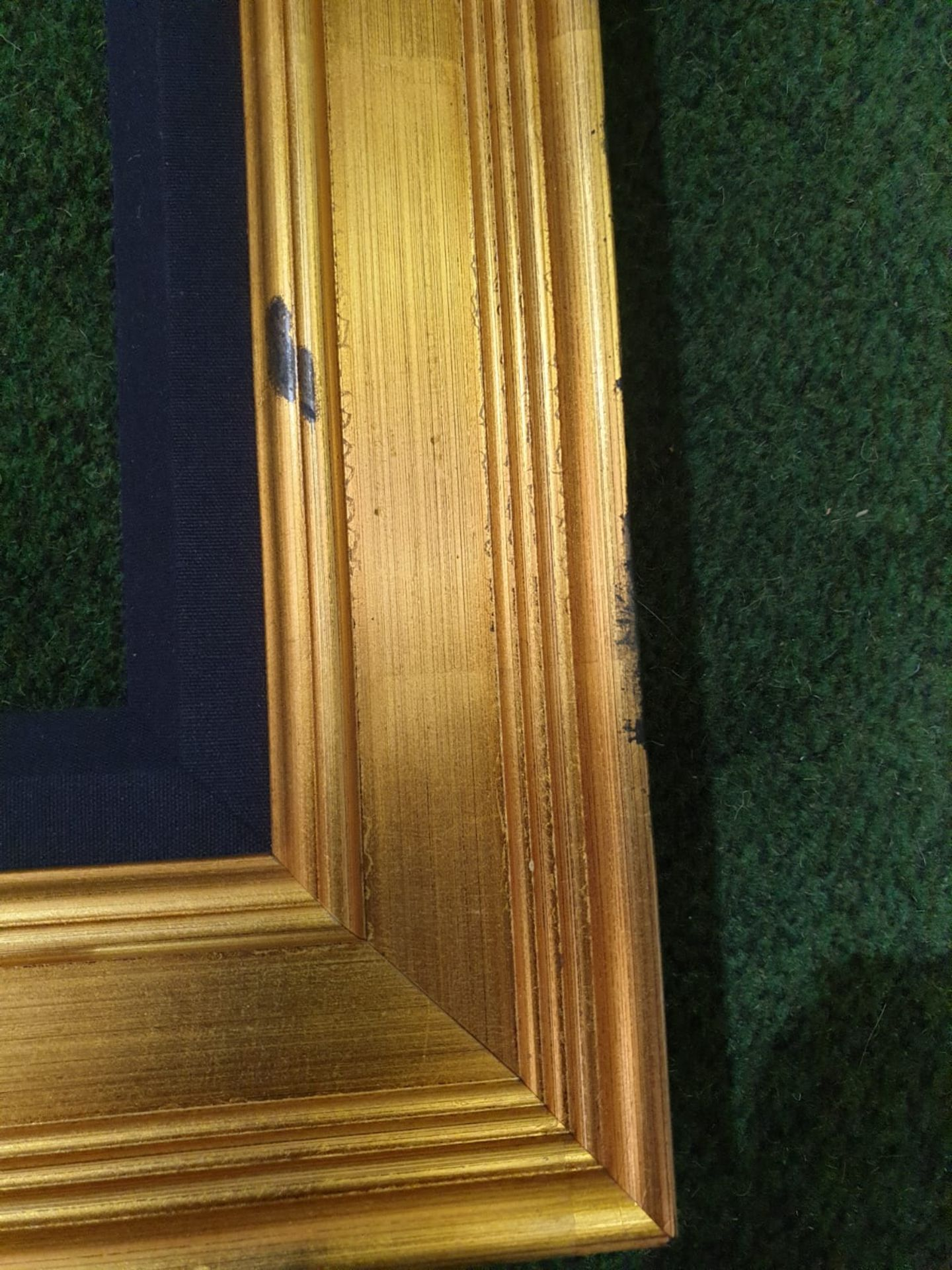 Gilt picture frame 97 x 150cm - Image 3 of 3