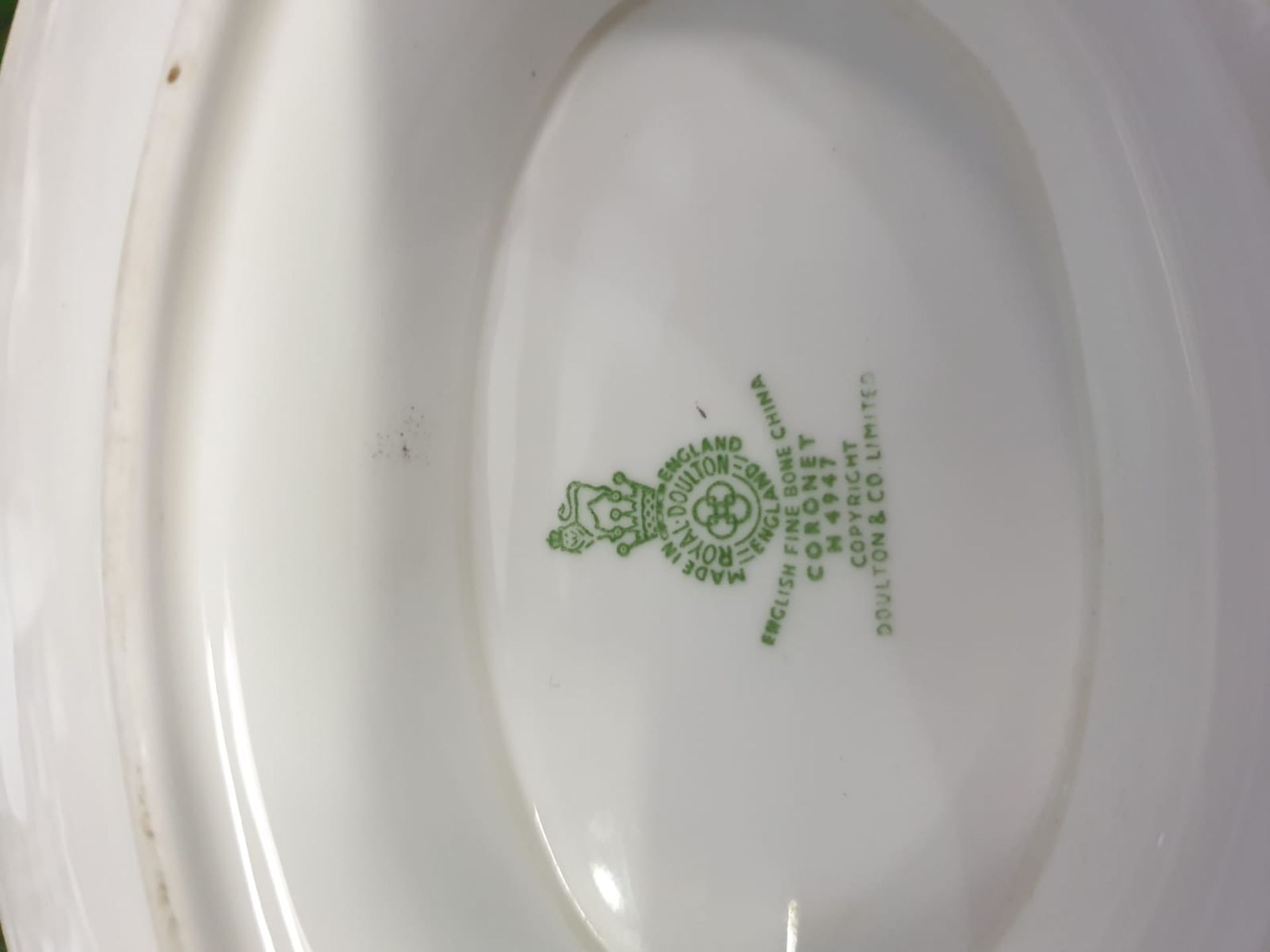 A Large quantity of tableware various patterns and manufacturers including Royal Doulton, Shelley, H - Image 4 of 15