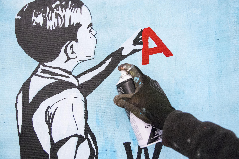 MANI-KURE 'WAR AND PEACE' - 2020- ORIGINAL 1/1 - Image 10 of 11