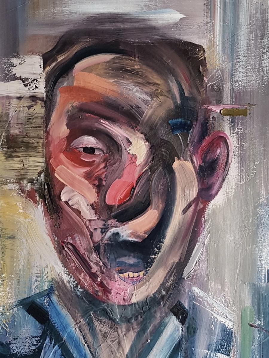 CHRIS VASILEIADIS 'HUMANITY' - 2020 - ORIGINAL 1/1 - Image 4 of 5