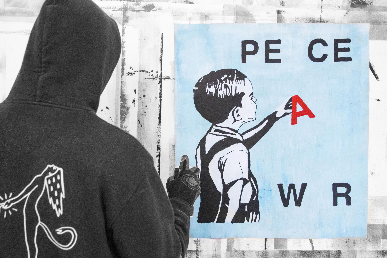 MANI-KURE 'WAR AND PEACE' - 2020- ORIGINAL 1/1 - Image 2 of 11