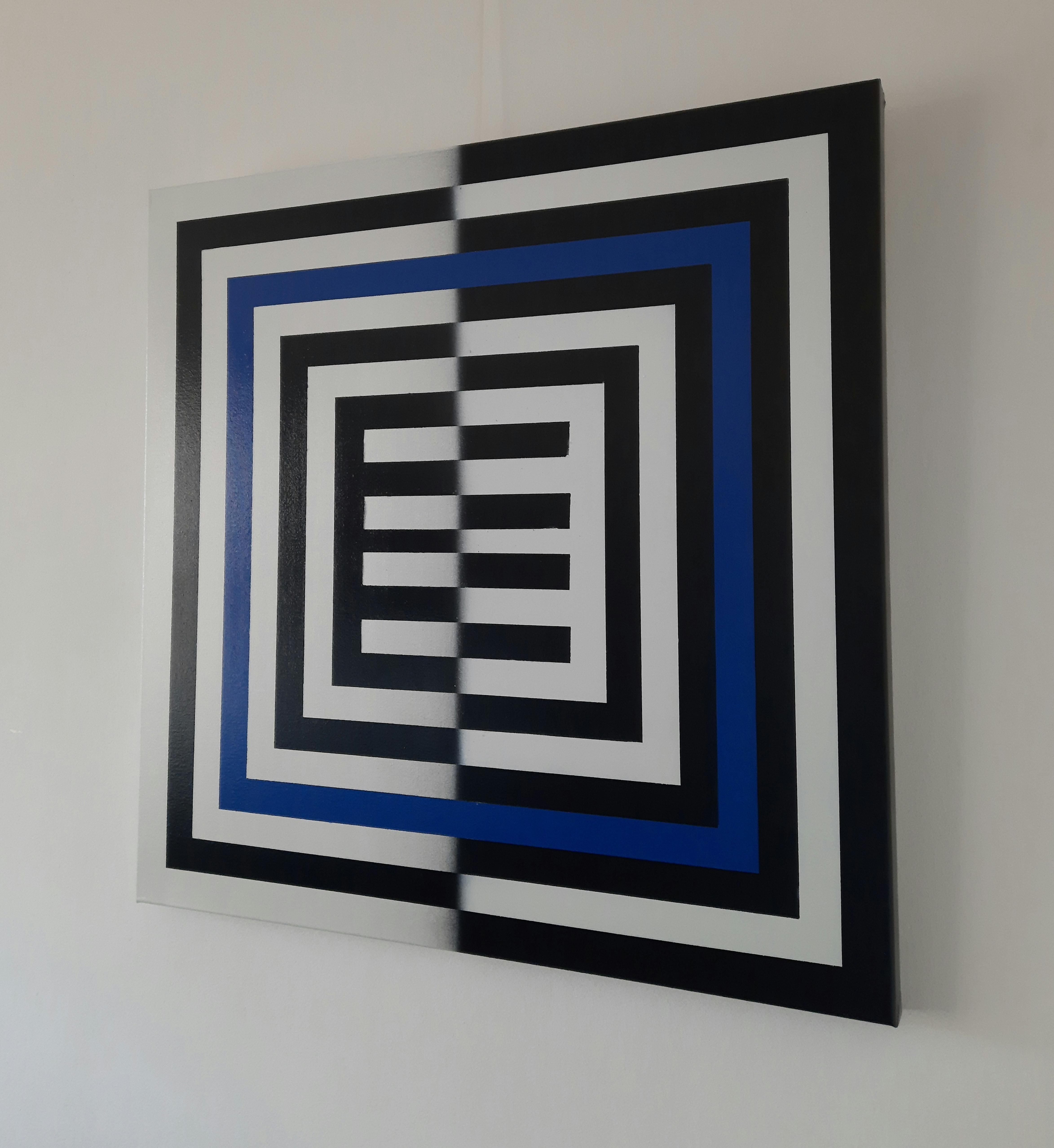 ESONE (PEDRO DENTINHO) 'TAKE THE BLUE PILL' - 2021-ORIGINAL 1/1 - Image 4 of 5