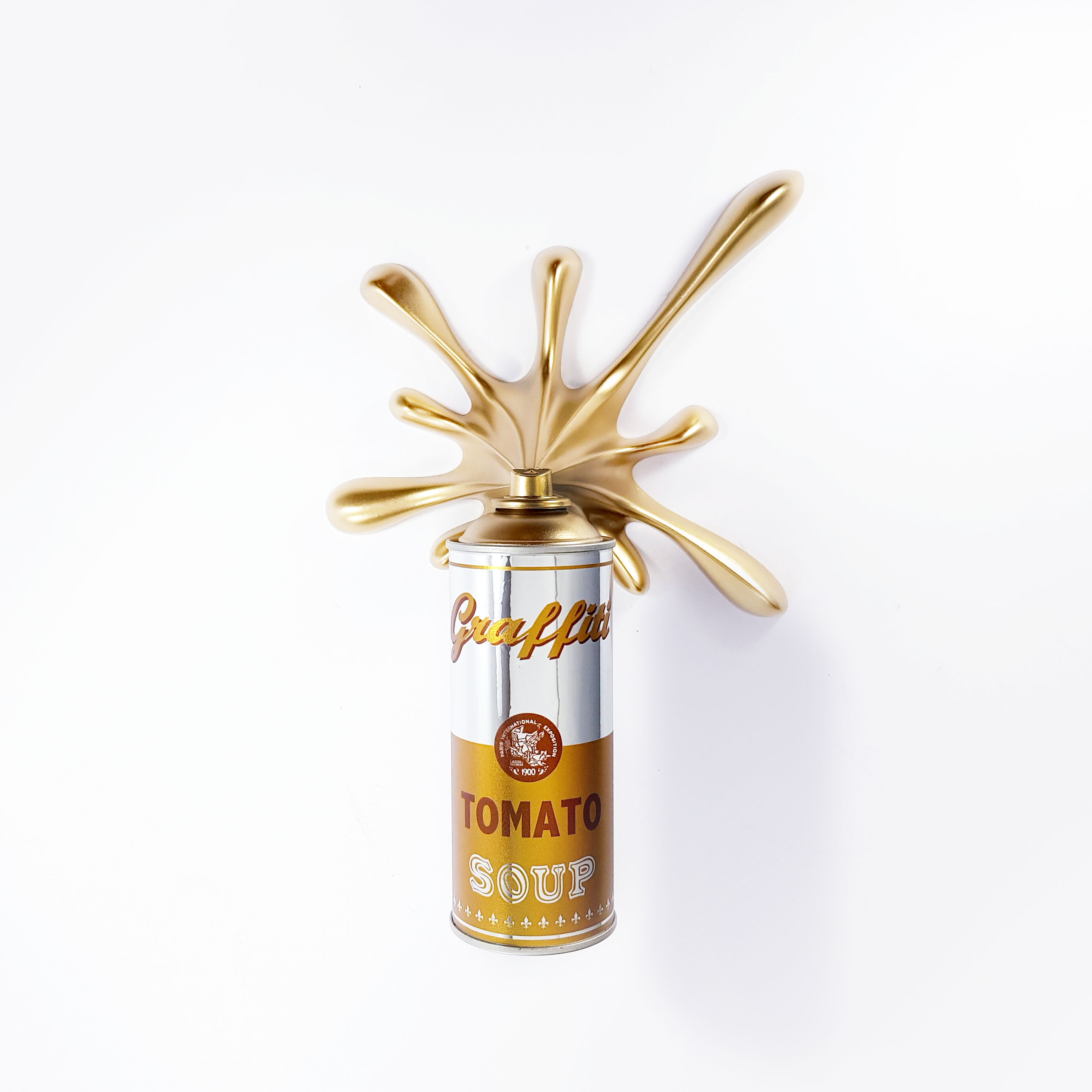 KRESIMIR BUDEN (2 FAST) 'CHROME GOLD SOUP SPLASH' -2020 - Image 3 of 4
