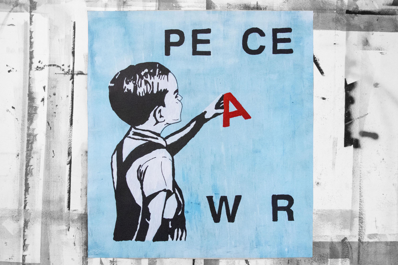 MANI-KURE 'WAR AND PEACE' - 2020- ORIGINAL 1/1 - Image 6 of 11
