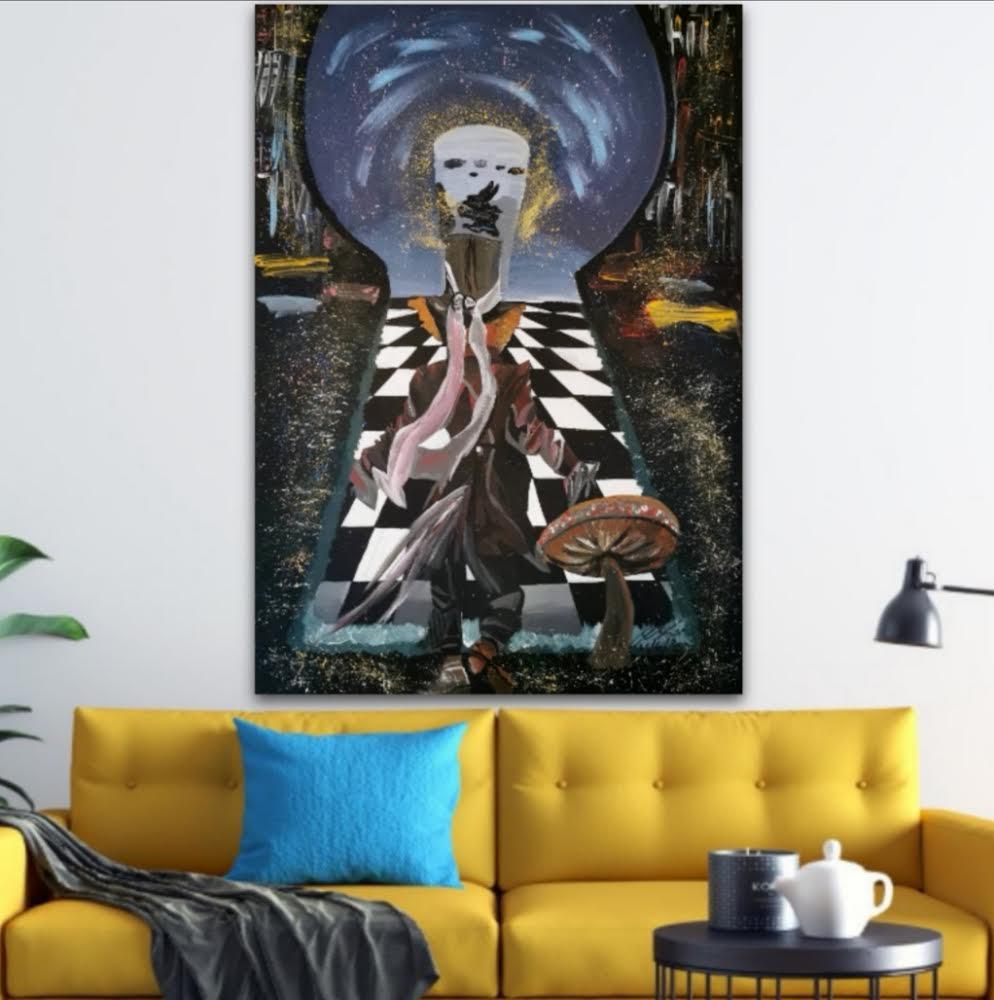 LUCA ANGELINI 'ESCAPE IN WONDERLAND'-2021 - Image 2 of 4