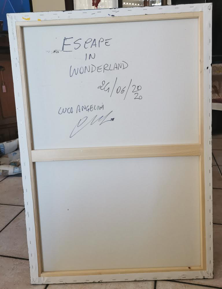 LUCA ANGELINI 'ESCAPE IN WONDERLAND'-2021 - Image 4 of 4