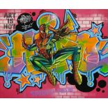 HIPO 'GRAFFITI SPIDERMAN'-2021-ORIGINAL 1/1