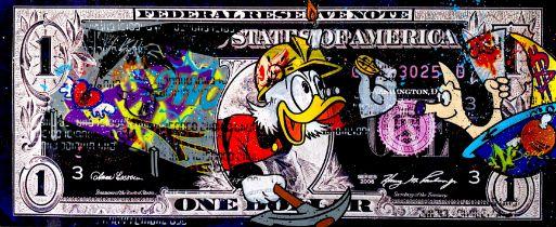 MOABIT ' A PREMIUM SUSPECTED TAX EVASION'(Scrooge finds a coin)'-2021-ORIGINAL 1/1