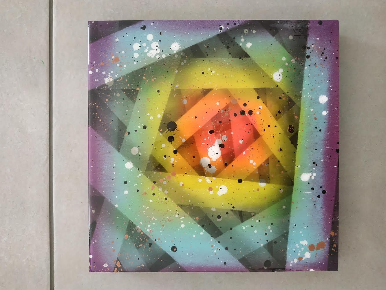 NINU 'COLOUR SPIRIT'-2021- ORIGINAL 1/1 - Image 10 of 11