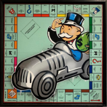 DVERSO 'UNCLE PENNYBAGS IN A HURRY WITH HIS CAR' - 2021- ORIGINAL 1/1