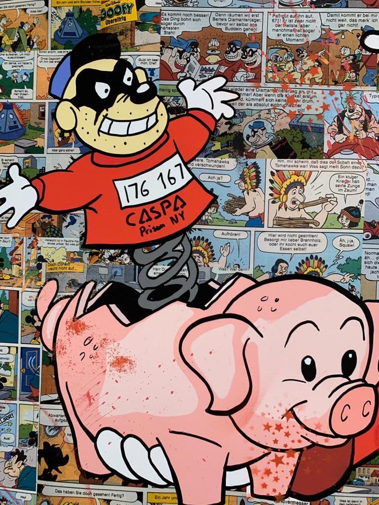 CASPA 'PIGGY BANK' -ORIGINAL 1/1 -2021 - Image 2 of 4