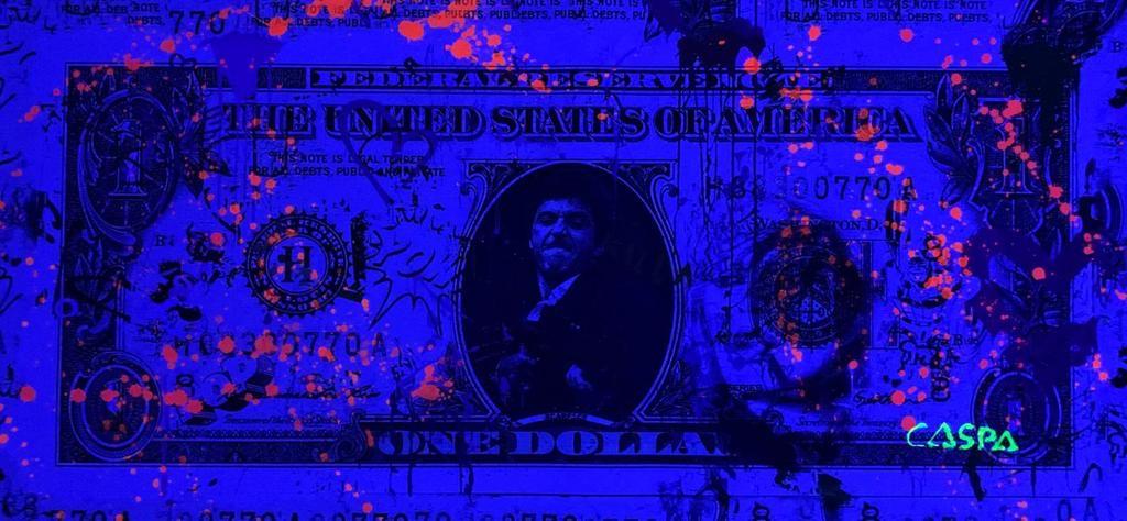 CASPA 'MONEY IS MY LIFE' -ORIGINAL -2021 - Image 2 of 4