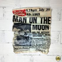 SOYZ BANK 'MAN ON THE MOON'-2021-ORIGINAL 1/1
