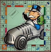 DVERSO 'UNCLE PENNYBAGS IN A HURRY WITH HIS CAR' -2021 -ORIGINAL 1/1
