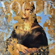 SANNIB 'THE MONA LISA ISSUE' -ORIGINAL 1/1 -2021