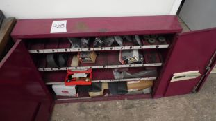 ENERPAC CABINET w/ PUNCHES, DIES
