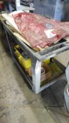 ROLLING CART w/ CONTENTS