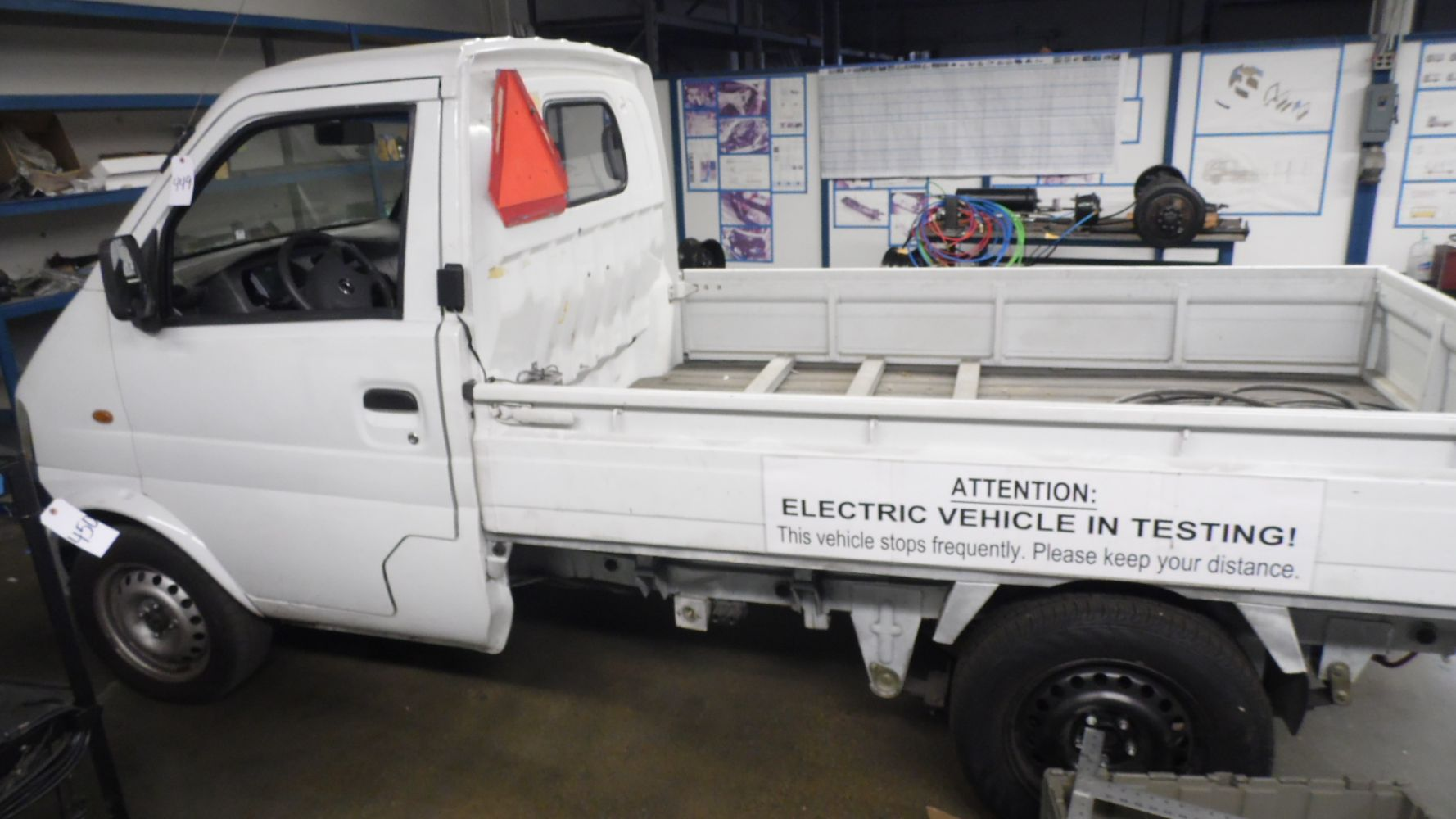 ELECTRIC & SPECIALITY VEHICLES MFR