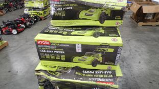 "RYOBI 40V LITHIUM BRUSHLESS 20"" (QTY.5 ) (NO BATTERIES)"