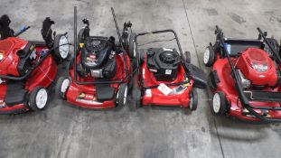 TORO & TROY BUILT LAWN MOWERS (QTY. 5)