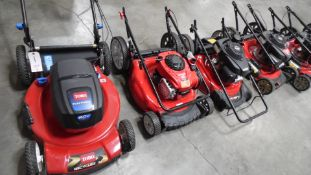 TROY BILT & TORO LAWN MOWERS ( QTY. 5)