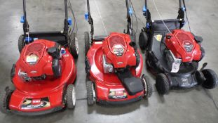 TORO LAWN MOWER (QTY. 3)
