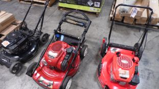 ASSORTED LAWN MOWERS (QTY. 3)