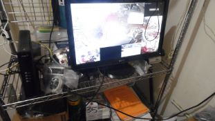 LTS ASST. SECURITY SYSTEM EQUIP. w/ FLAT MONITOR