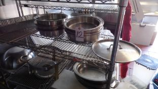 INSERT PANS / CHAFING CONTAINERS