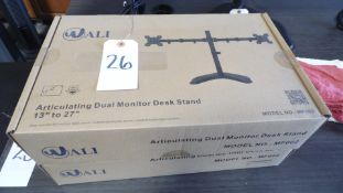 DUAL MONITOR STANDS (QTY. 2)