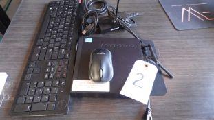 LENOVO ICORE 5 COMPUTER w/ KEYBOARD & MOUSE