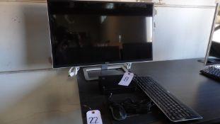 """LENOVO ICORE 5 COMPUTER w/ DELL 30"""" MONITOR"""