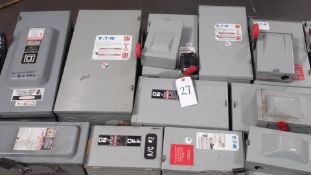 PALLET ELECTRICAL SWITCH BOXES