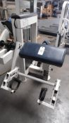 GALICEO ARM CURL w/ 150 LB. STACK
