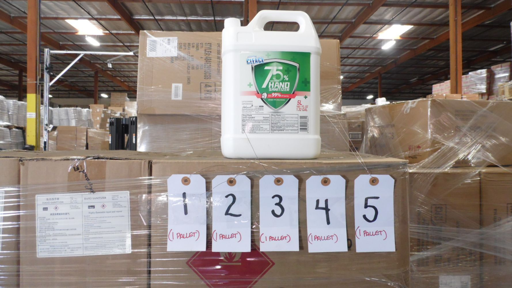 Hand Santizer Wipes, Disenfectant Spray - By the Pallet