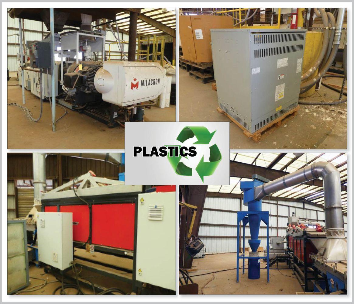 Late Model Plastic Recycling Equipment