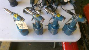 4 x SIP Pneumatic Rivet Guns